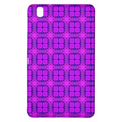 Abstract Dancing Diamonds Purple Violet Samsung Galaxy Tab Pro 8 4 Hardshell Case by DianeClancy