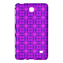 Abstract Dancing Diamonds Purple Violet Samsung Galaxy Tab 4 (7 ) Hardshell Case