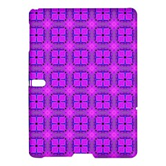 Abstract Dancing Diamonds Purple Violet Samsung Galaxy Tab S (10 5 ) Hardshell Case  by DianeClancy