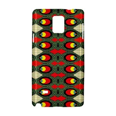 Black Star Samsung Galaxy Note 4 Hardshell Case by MRTACPANS