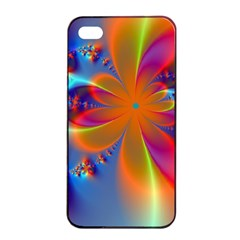 Bright Apple Iphone 4/4s Seamless Case (black) by Delasel