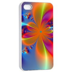 Bright Apple Iphone 4/4s Seamless Case (white) by Delasel