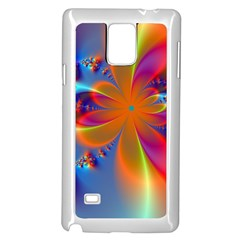 Bright Samsung Galaxy Note 4 Case (white) by Delasel