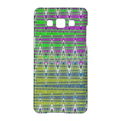 Colorful Zigzag Pattern Samsung Galaxy A5 Hardshell Case  by BrightVibesDesign