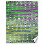 Colorful Zigzag Pattern Canvas 36  x 48   48 x36 Canvas - 1