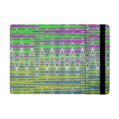 Colorful Zigzag Pattern Ipad Mini 2 Flip Cases by BrightVibesDesign