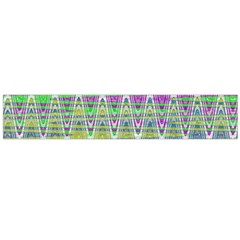 Colorful Zigzag Pattern Flano Scarf (large)  by BrightVibesDesign