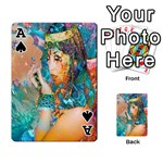 Star Illumination Playing Cards 54 Designs  Front - SpadeA