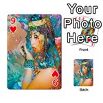 Star Illumination Playing Cards 54 Designs  Front - Heart9