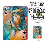 Star Illumination Playing Cards 54 Designs  Front - Spade10