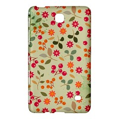 Elegant Floral Seamless Pattern Samsung Galaxy Tab 4 (8 ) Hardshell Case  by TastefulDesigns