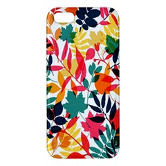 Seamless Autumn Leaves Pattern  Iphone 5s/ Se Premium Hardshell Case by TastefulDesigns