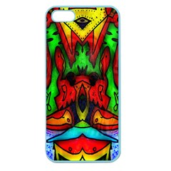 Faces Apple Seamless iPhone 5 Case (Color)