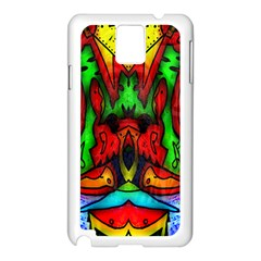 Faces Samsung Galaxy Note 3 N9005 Case (White)