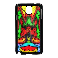 Faces Samsung Galaxy Note 3 Neo Hardshell Case (Black)