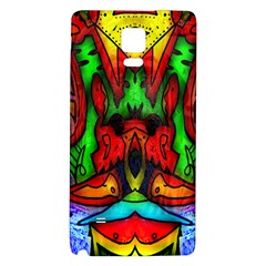 Faces Galaxy Note 4 Back Case by MRTACPANS