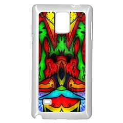 Faces Samsung Galaxy Note 4 Case (White)