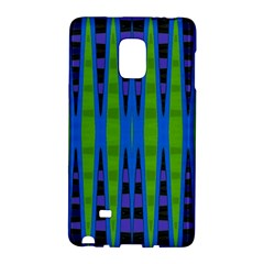 Blue Green Geometric Galaxy Note Edge by BrightVibesDesign