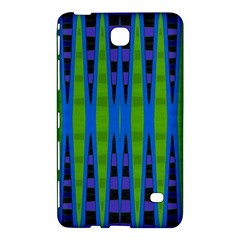 Blue Green Geometric Samsung Galaxy Tab 4 (7 ) Hardshell Case  by BrightVibesDesign