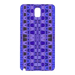 Blue Black Geometric Pattern Samsung Galaxy Note 3 N9005 Hardshell Back Case