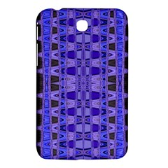 Blue Black Geometric Pattern Samsung Galaxy Tab 3 (7 ) P3200 Hardshell Case