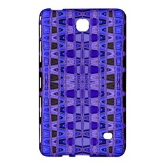 Blue Black Geometric Pattern Samsung Galaxy Tab 4 (8 ) Hardshell Case