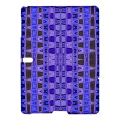 Blue Black Geometric Pattern Samsung Galaxy Tab S (10 5 ) Hardshell Case