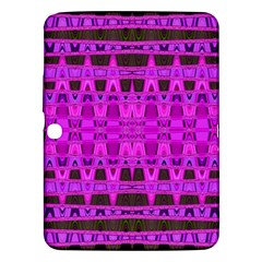 Bright Pink Black Geometric Pattern Samsung Galaxy Tab 3 (10 1 ) P5200 Hardshell Case