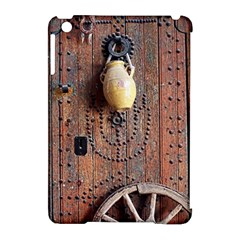 Oriental Wooden Rustic Door  Apple Ipad Mini Hardshell Case (compatible With Smart Cover) by TastefulDesigns