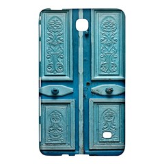 Turquoise Oriental Old Door Samsung Galaxy Tab 4 (7 ) Hardshell Case  by TastefulDesigns