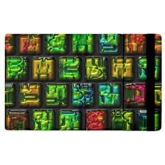 Colorful Buttons               			apple Ipad 2 Flip Case by LalyLauraFLM