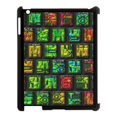 Colorful Buttons               			apple Ipad 3/4 Case (black) by LalyLauraFLM