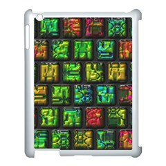 Colorful Buttons               			apple Ipad 3/4 Case (white) by LalyLauraFLM