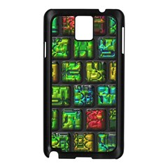 Colorful Buttons               			samsung Galaxy Note 3 N9005 Case (black) by LalyLauraFLM