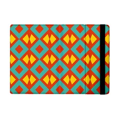Blue Rhombus Pattern                			apple Ipad Mini 2 Flip Case by LalyLauraFLM