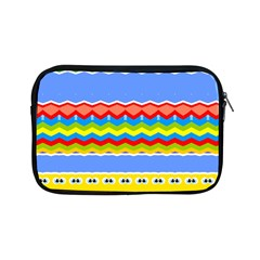 Colorful Chevrons And Waves                 			apple Ipad Mini Zipper Case by LalyLauraFLM