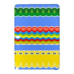 Colorful Chevrons And Waves                 			samsung Galaxy Tab Pro 10 1 Hardshell Case by LalyLauraFLM