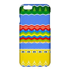 Colorful Chevrons And Waves                 			apple Iphone 6 Plus/6s Plus Hardshell Case by LalyLauraFLM