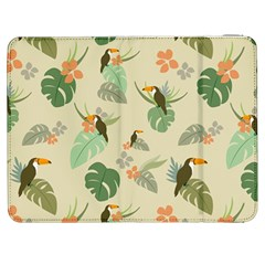 Tropical Garden Pattern Samsung Galaxy Tab 7  P1000 Flip Case by TastefulDesigns