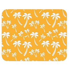 Summer Palm Tree Pattern Double Sided Flano Blanket (medium)  by TastefulDesigns