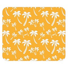 Summer Palm Tree Pattern Double Sided Flano Blanket (small)