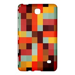Tiled Colorful Background Samsung Galaxy Tab 4 (8 ) Hardshell Case  by TastefulDesigns