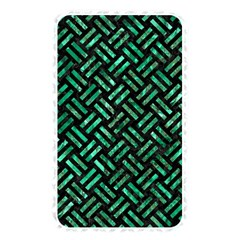 Woven2 Black Marble & Green Marble Memory Card Reader (rectangular) by trendistuff