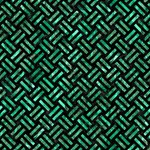 WOVEN2 BLACK MARBLE & GREEN MARBLE #1 MOM 3D Greeting Cards (8x4) Inside