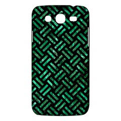 Woven2 Black Marble & Green Marble Samsung Galaxy Mega 5 8 I9152 Hardshell Case  by trendistuff