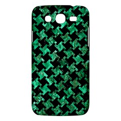 Houndstooth2 Black Marble & Green Marble Samsung Galaxy Mega 5 8 I9152 Hardshell Case  by trendistuff