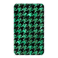 Houndstooth1 Black Marble & Green Marble Memory Card Reader (rectangular) by trendistuff