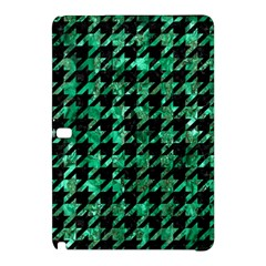 Houndstooth1 Black Marble & Green Marble Samsung Galaxy Tab Pro 10 1 Hardshell Case by trendistuff