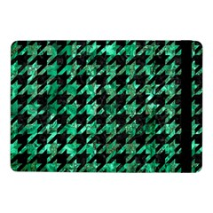 Houndstooth1 Black Marble & Green Marble Samsung Galaxy Tab Pro 10 1  Flip Case by trendistuff
