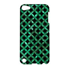 Circles3 Black Marble & Green Marble Apple Ipod Touch 5 Hardshell Case by trendistuff